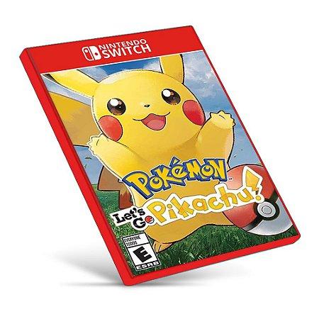 Pokémon: Let's Go, Pikachu! - Nintendo Switch - Mídia Digital