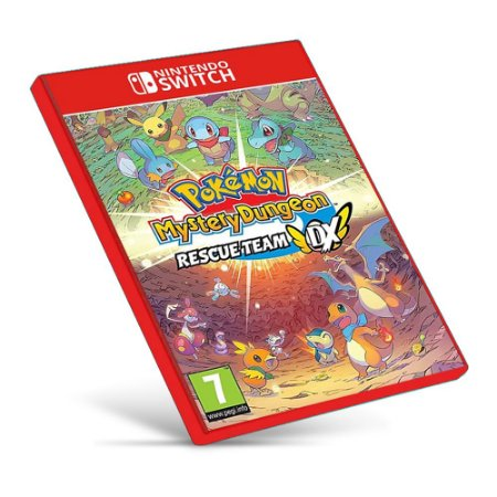 Pokémon Mystery Dungeon - Nintendo Switch - Mídia Digital