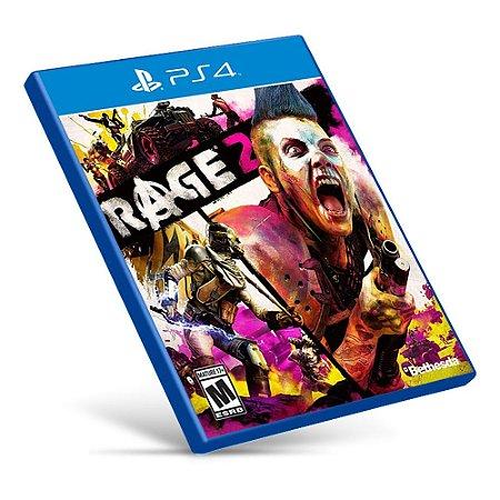Rage 2 - PS4 - Mídia Digital