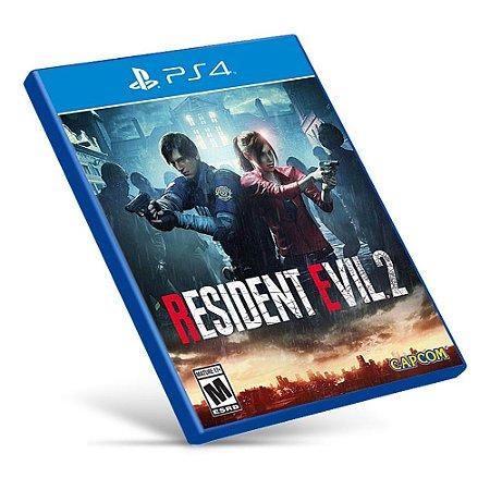 Resident Evil 2 - PS4 - Mídia Digital