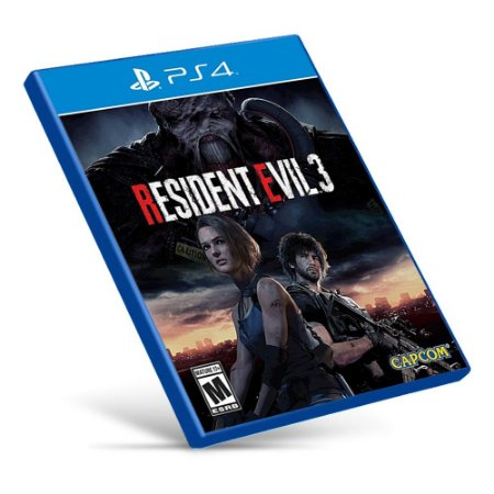 Resident Evil 3 Remake - PS4 - Mídia Digital