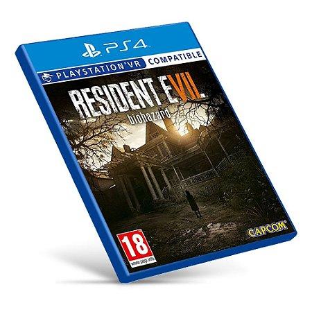 Resident Evil 7 - PS4 - Mídia Digital