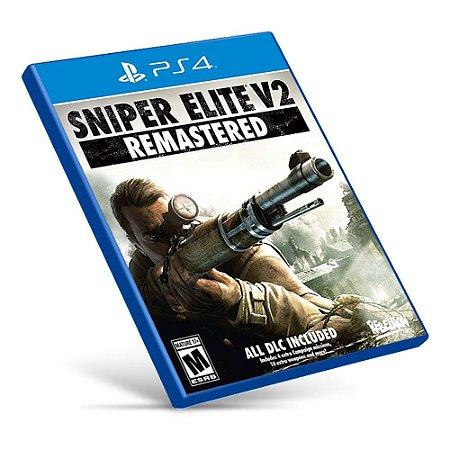 Sniper Elite V2 Remastered - PS4 - Mídia Digital