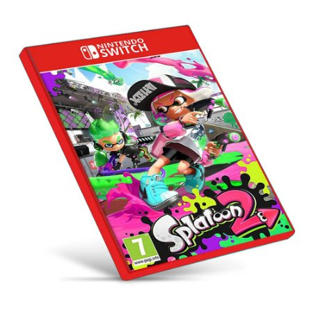 Splatoon 2 - Nintendo Switch - Mídia Digital