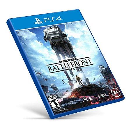 Star Wars Battlefront - PS4 - Mídia Digital