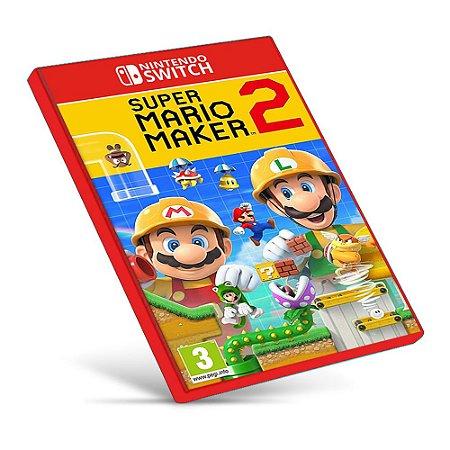 Super Mario Maker 2 - Nintendo Switch - Mídia Digital