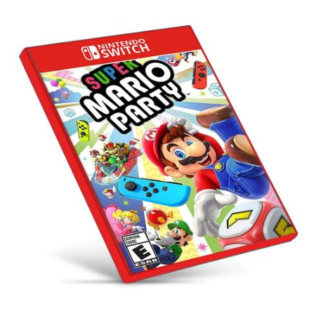 Super Mario Party - Nintendo Switch - Mídia Digital