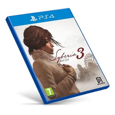 Syberia 3 - Ps4 - Mídia Digital