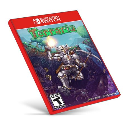 Terraria - Nintendo Switch - Mídia Digital