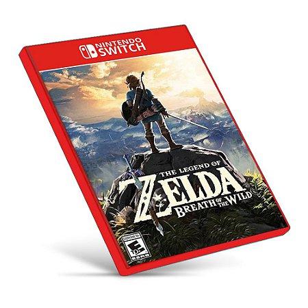 The Legend of Zelda: Breath of the Wild - Nintendo Switch - Mídia Digital