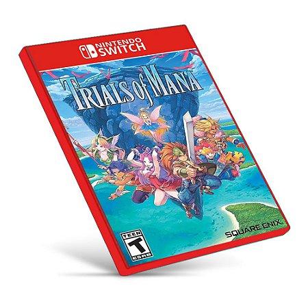 Trials of Mana - Nintendo Switch - Mídia Digital