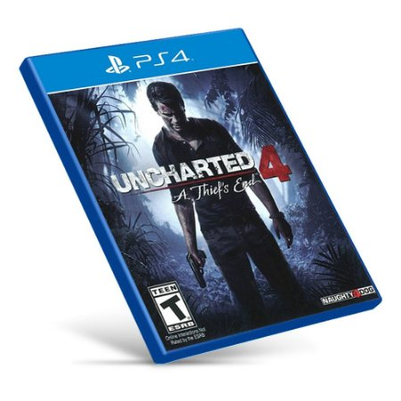 Uncharted 4: A Thief's End - PS4 - Mídia Digital