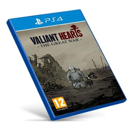 Valiant Hearts: The Great War - PS4 - Mídia Digital
