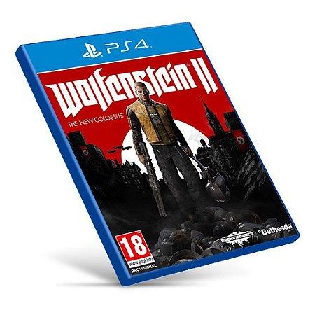 Wolfenstein II: The New Colossus - Ps4 - Mídia Digital