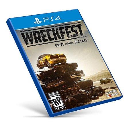 Wreckfest - Ps4 - Mídia Digital