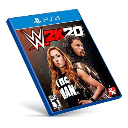 WWE 2K20 - PS4 - Mídia Digital