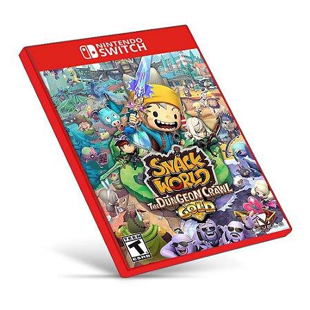 Snack World The Dungeon Crawl - Nintendo Switch - Mídia Digital