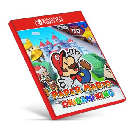 Paper Mario: The Origami King - Nintendo Switch - Mídia Digital