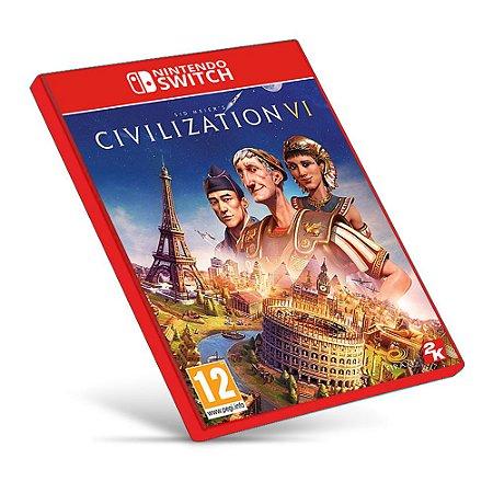 Sid Meier's Civilization VI - Nintendo Switch - Mídia Digital