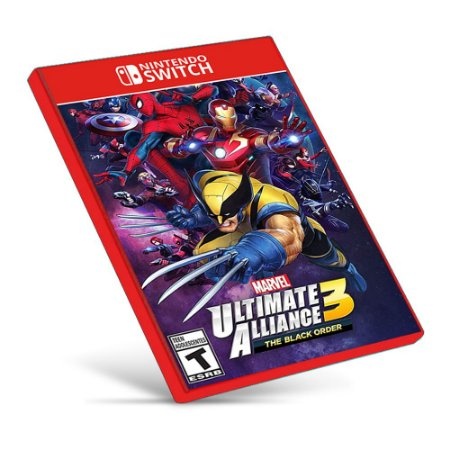 Marvel Ultimate Alliance 3 - Nintendo Switch - Mídia Digital