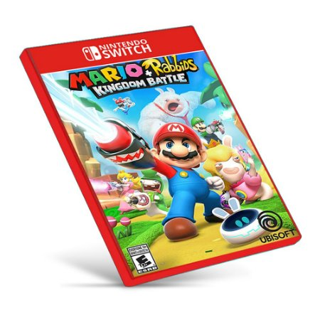 Mario + Rabbids Kingdom Battle - Nintendo Switch - Mídia Digital