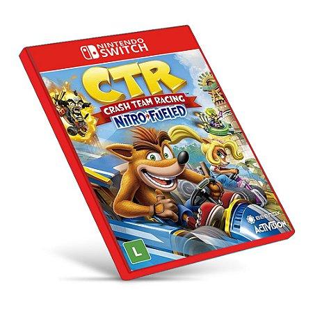 Crash Team Racing Nitro-Fueled - Nintendo Switch - Mídia Digital