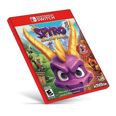 Spyro Reignited Trilogy - Nintendo Switch - Mídia Digital