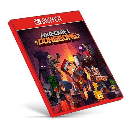 Minecraft Dungeons - Nintendo Switch - Mídia Digital