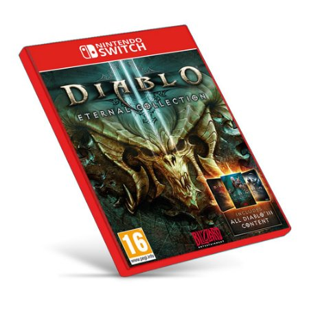 Diablo III: Eternal Collection - Nintendo Switch - Mídia Digital