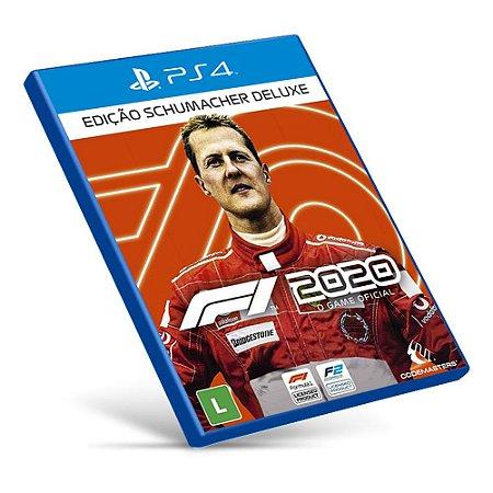 F1 2020: Deluxe Schumacher Edition - PS4 - Mídia Digital