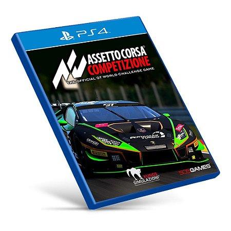 Assetto Corsa Competizione - PS4 - Mídia Digital