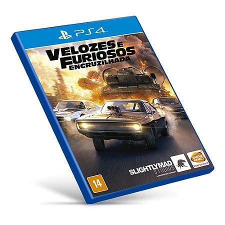 Velozes e Furiosos: Encruzilhada - PS4 - Mídia Digital