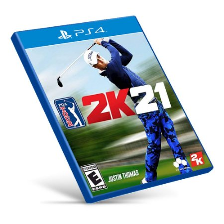 PGA Tour 2K21 - PS4 - Mídia Digital