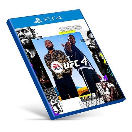 EA Sports UFC 4 - PS4 - Mídia Digital