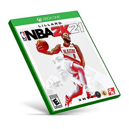 NBA 2K21 - Xbox One - Mídia Digital