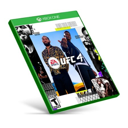 EA Sports UFC 4 - Xbox One - Mídia Digital