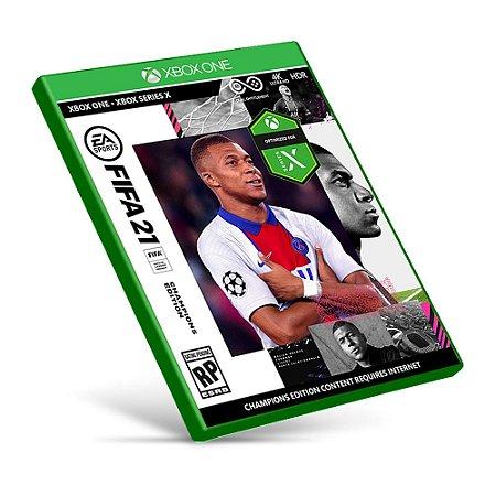 FIFA 21 - Xbox One - Mídia Digital