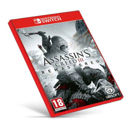 Assassins Creed III Remastered - Nintendo Switch Mídia Digital