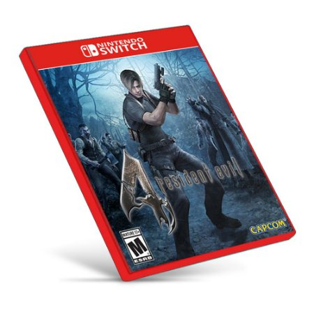 Resident Evil 4 - Nintendo Switch - Mídia Digital