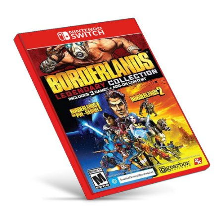 Borderlands Legendary Collection - Nintendo Switch - Mídia Digital