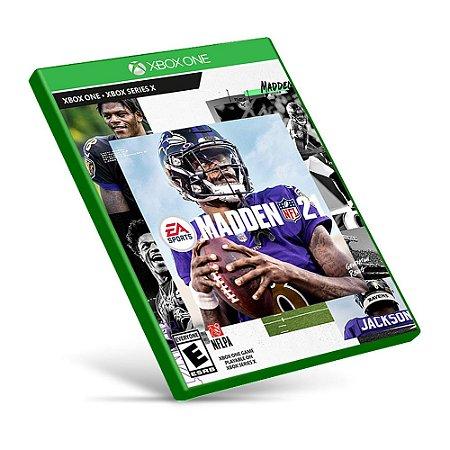Madden NFL 21 - Xbox One - Mídia Digital