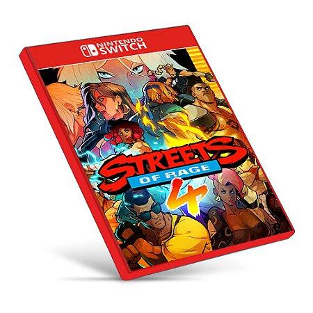 Streets of Rage 4 - Nintendo Switch - Mídia Digital