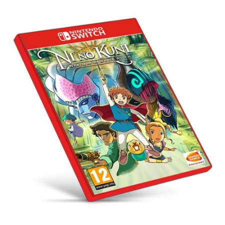 Ni No Kuni Wrath of the White Witch - Nintendo Switch - Mídia Digital