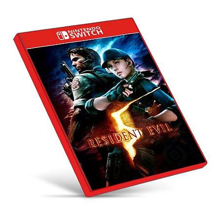 Resident Evil 5 - Nintendo Switch - Mídia Digital