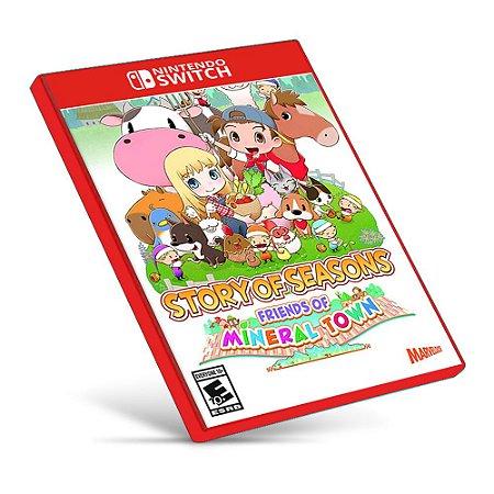 STORY OF SEASONS: Friends of Mineral Town - Nintendo Switch - Mídia Digital