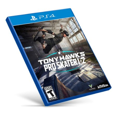 Tony Hawk's Pro Skater 1 + 2 - PS4 - Mídia Digital