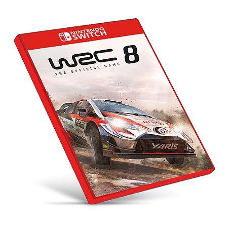 WRC 8 FIA World Rally Championship - Nintendo Switch - Mídia Digital