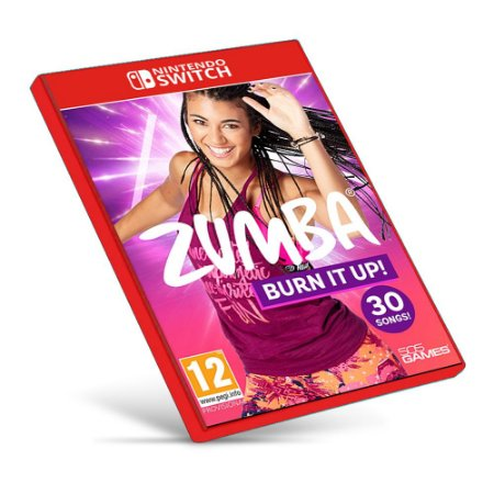 Zumba Burn It Up! - Nintendo Switch - Mídia Digital