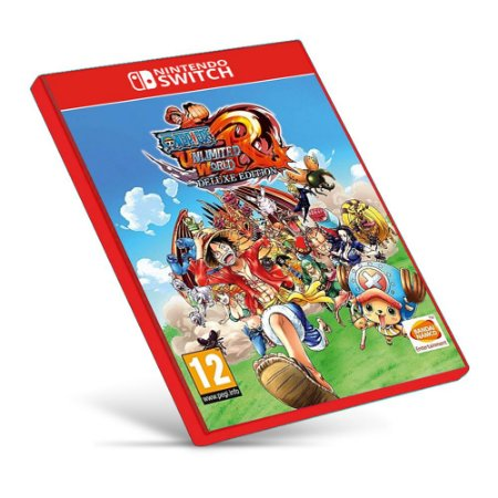 ONE PIECE: Unlimited World Red Deluxe Edition - Nintendo Switch - Mídia Digital