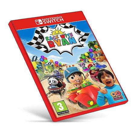 Race with Ryan - Nintendo Switch - Mídia Digital